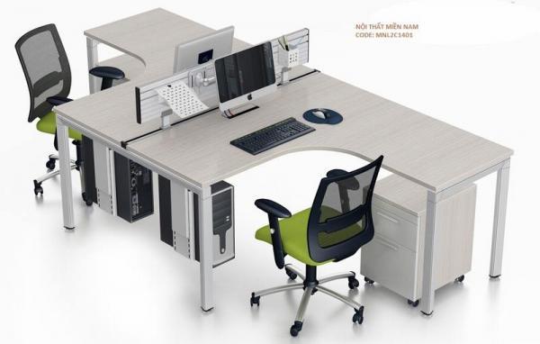 Cụm bàn làm việc 2 chỗ MNL2C1401