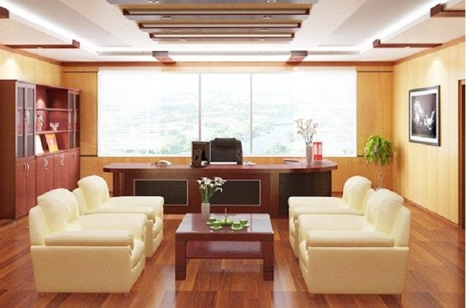 Thiết kế nội thất cho văn phòng lãnh đạo